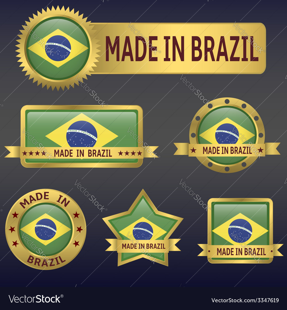 Made in brazil vector | Price: 3 Credit (USD $3)