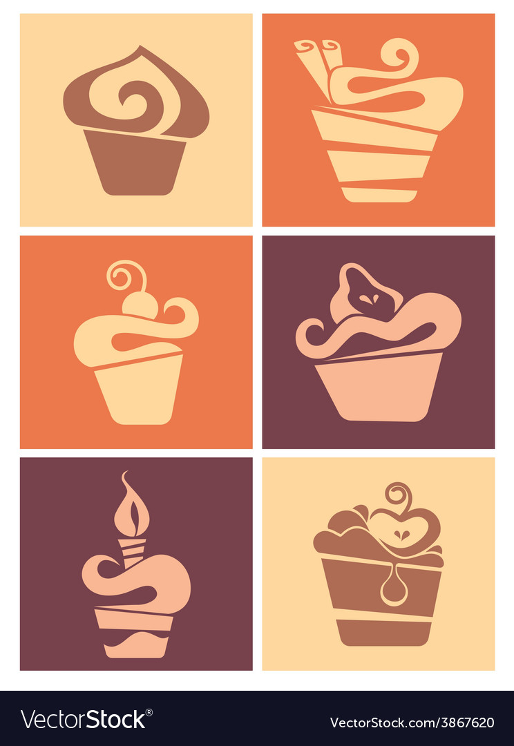 Cakes collection vector | Price: 1 Credit (USD $1)