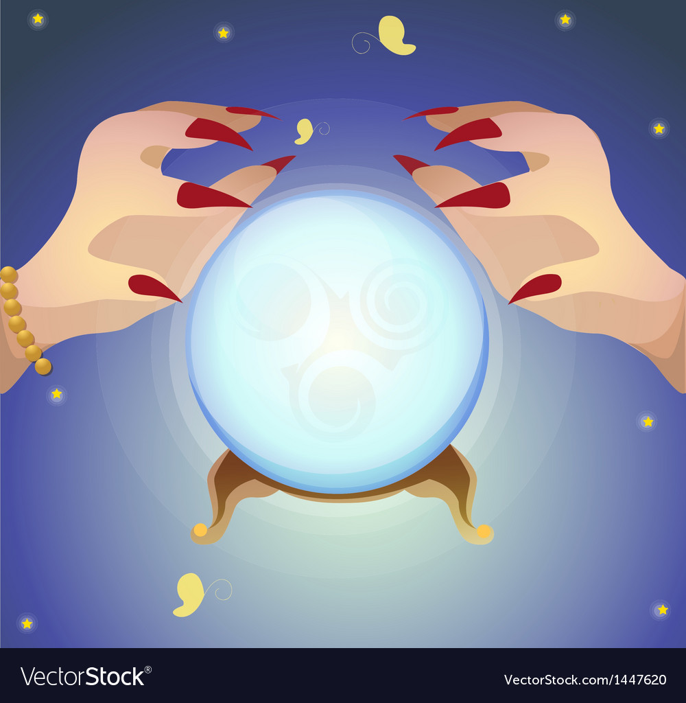 Fortune teller vector | Price: 1 Credit (USD $1)