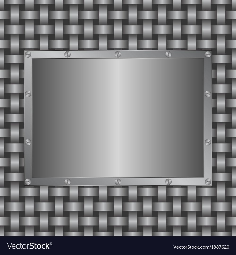 Metalic panel vector | Price: 1 Credit (USD $1)