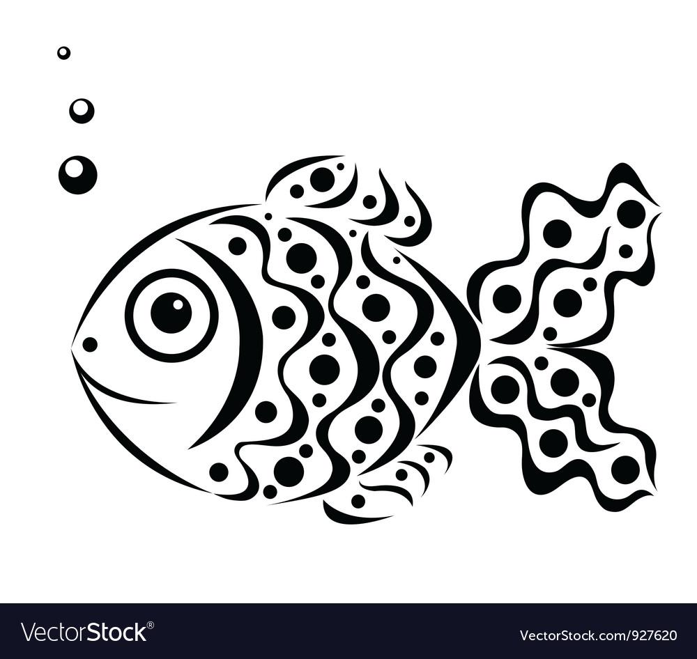 Ornamental fish vector | Price: 1 Credit (USD $1)