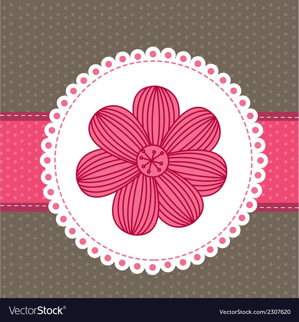 Pink frame vector | Price: 1 Credit (USD $1)