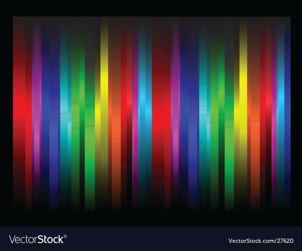 Rainbow abstract vector | Price: 1 Credit (USD $1)