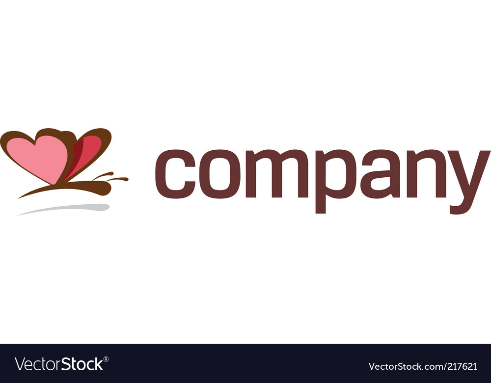 Butterfly logo for art company vector | Price: 1 Credit (USD $1)
