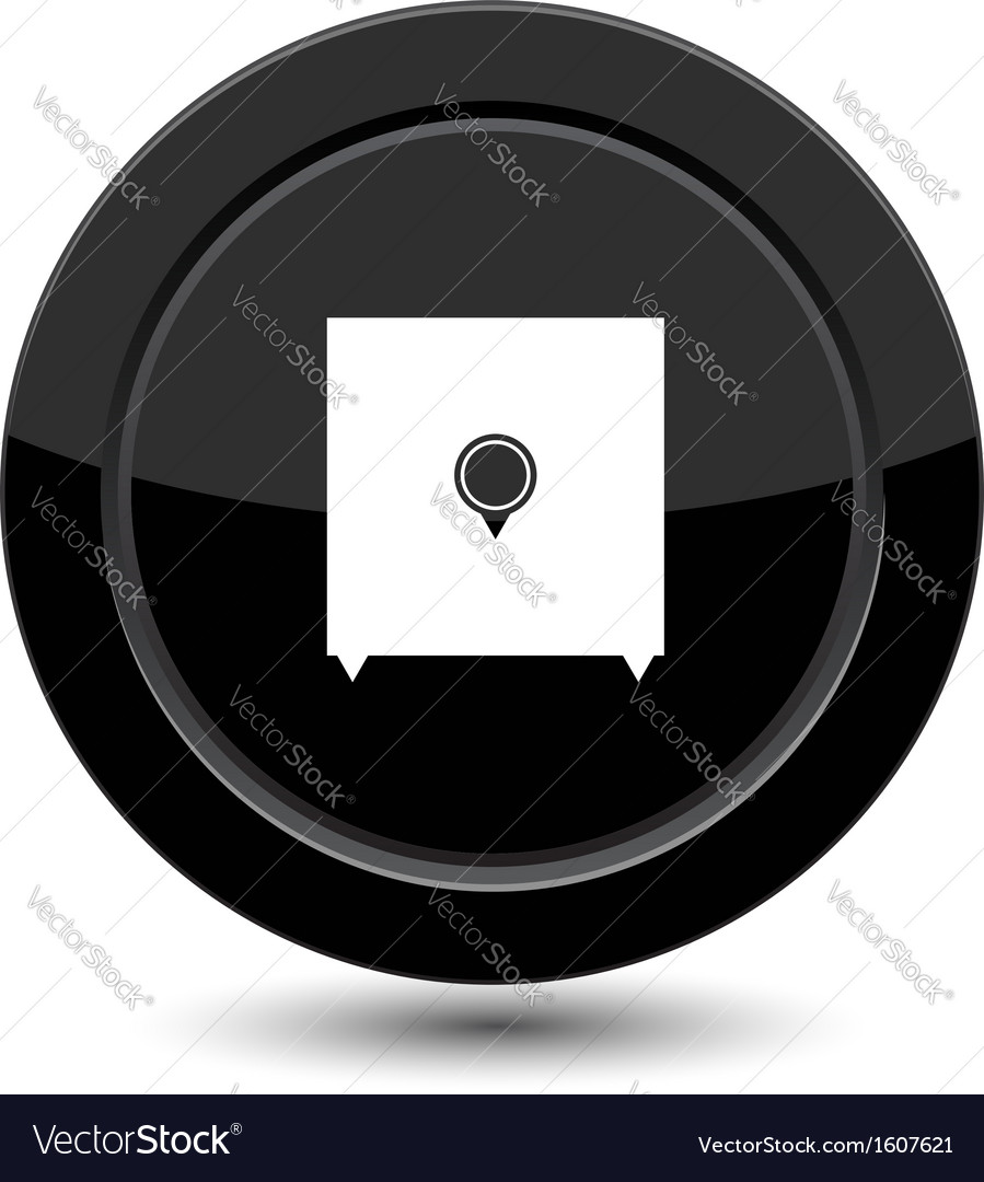 Button with safe vector   Price: 1 Credit (USD $1)