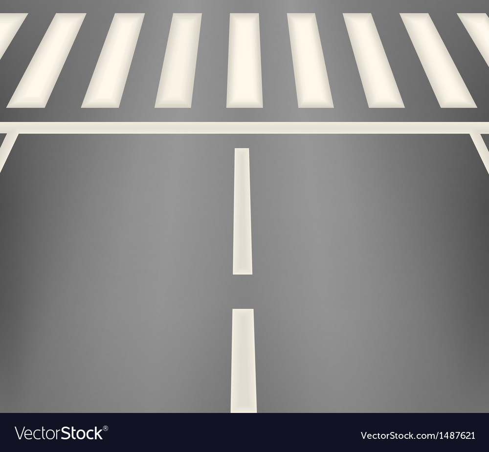 Crosswalk vector | Price: 1 Credit (USD $1)