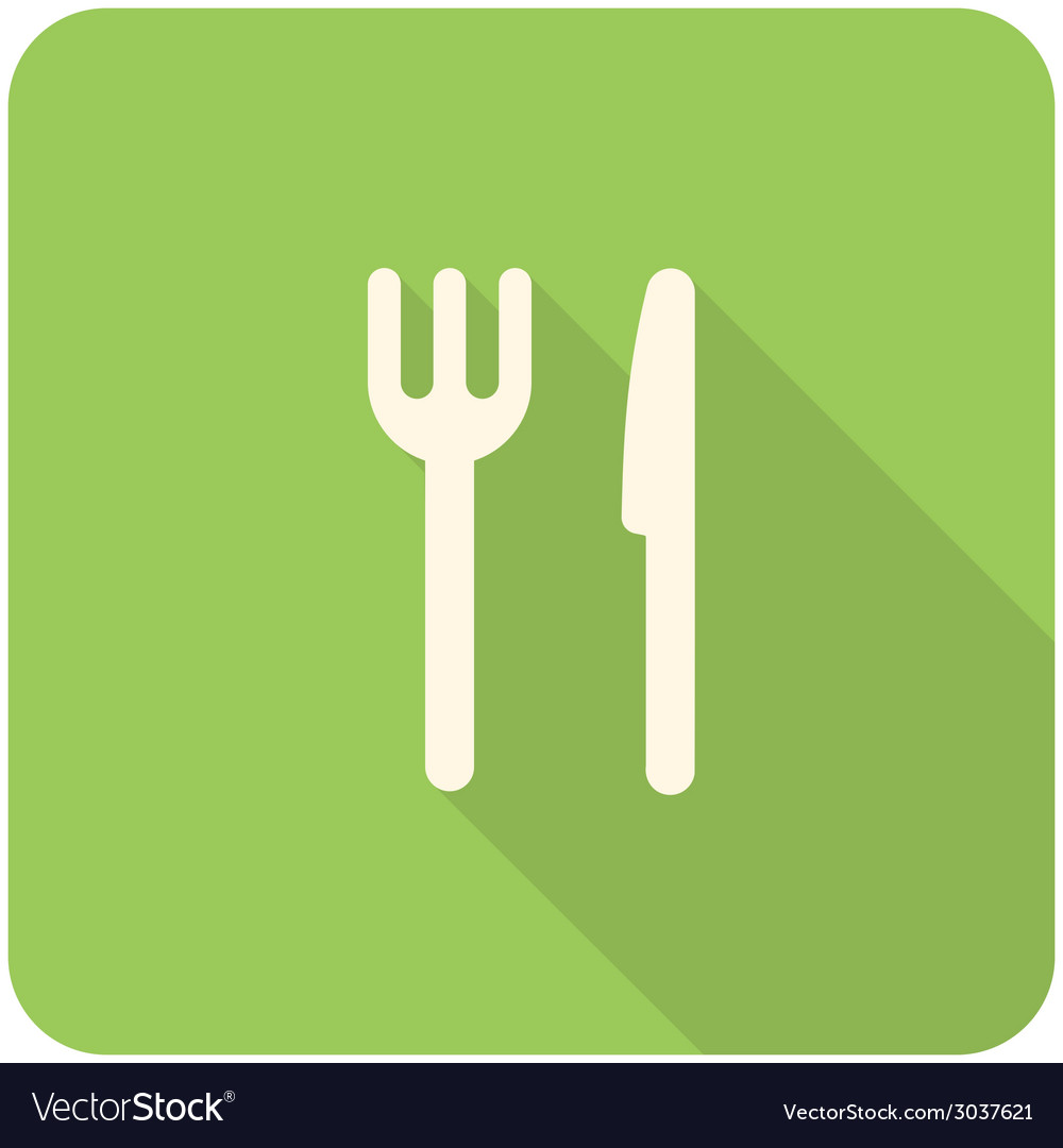 Fork knife icon vector | Price: 1 Credit (USD $1)