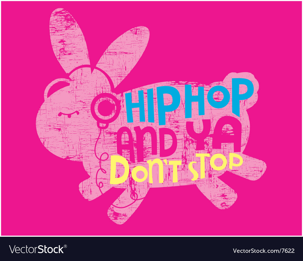 Animal hip hop vector | Price: 3 Credit (USD $3)