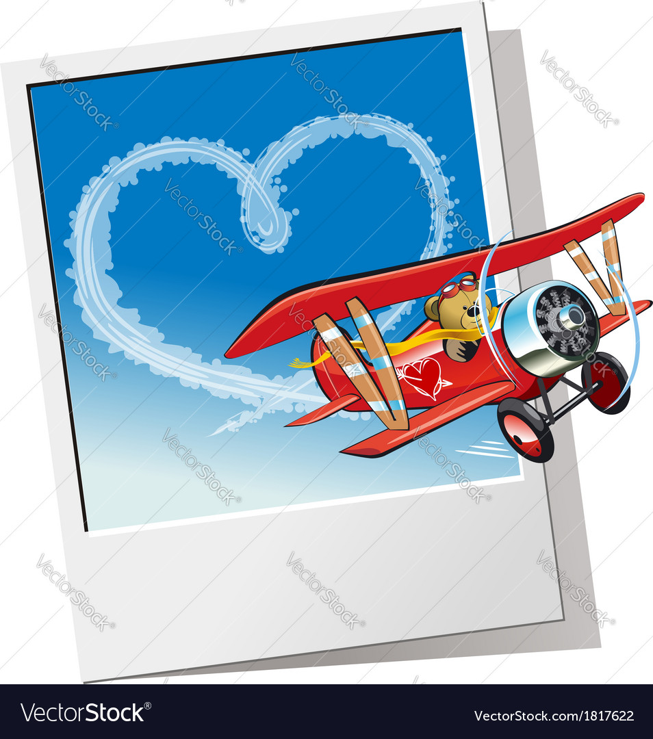 Cartoon valentines card vector | Price: 3 Credit (USD $3)