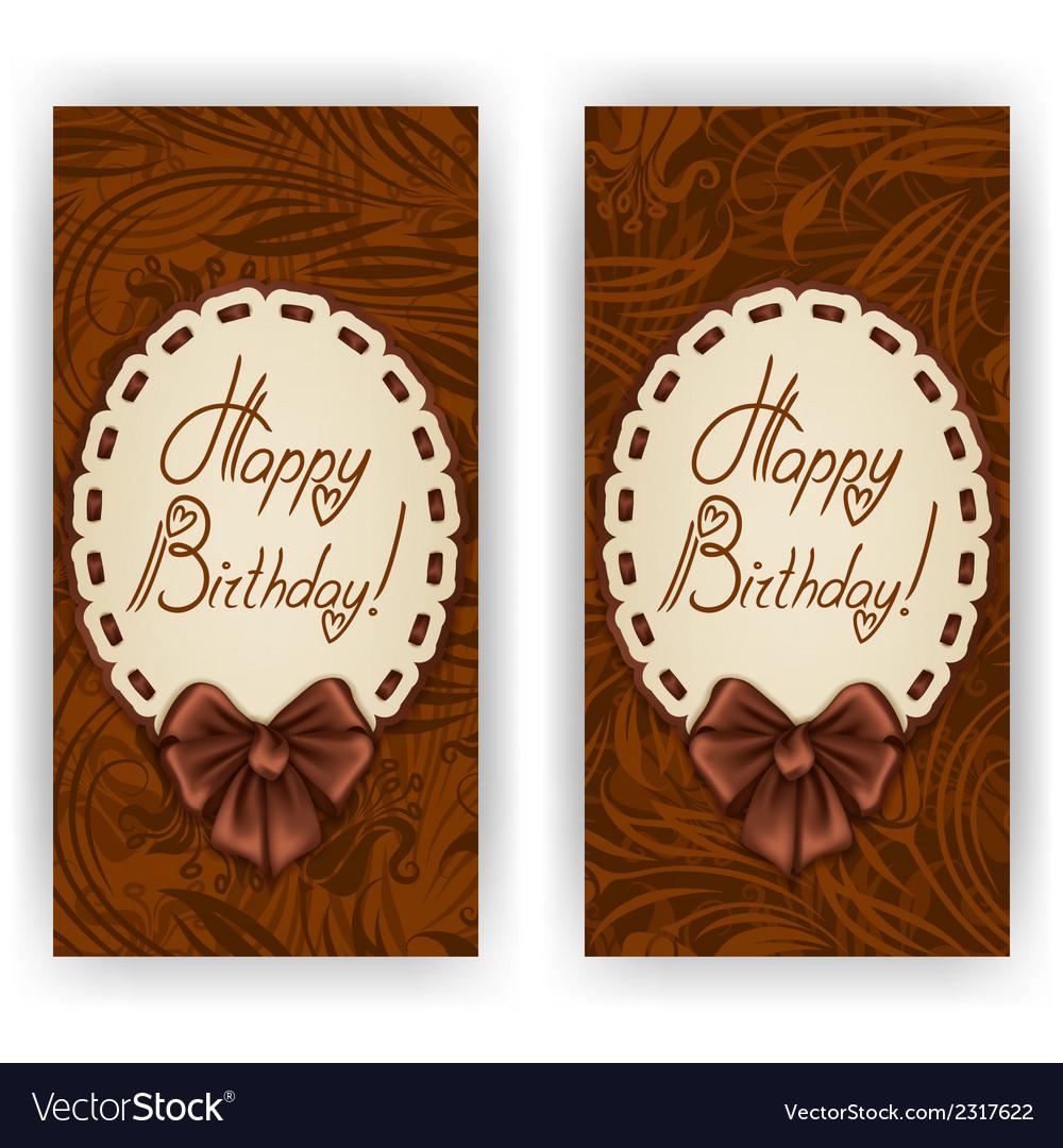 Elegant template for invitation card vector | Price: 1 Credit (USD $1)