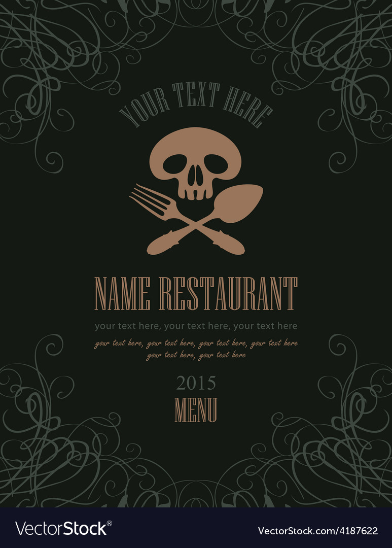 Jolly roger menu vector | Price: 1 Credit (USD $1)