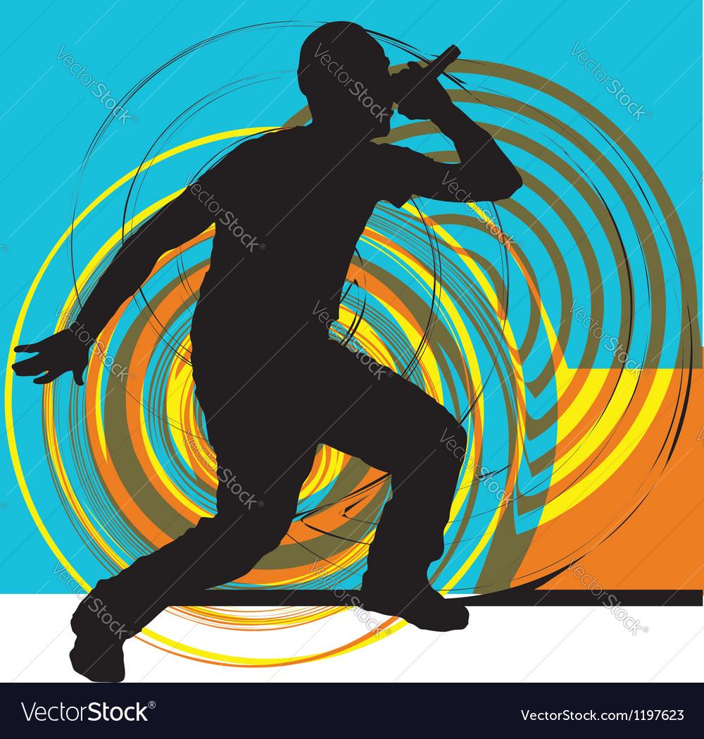 Artists of hip hop vector | Price: 1 Credit (USD $1)