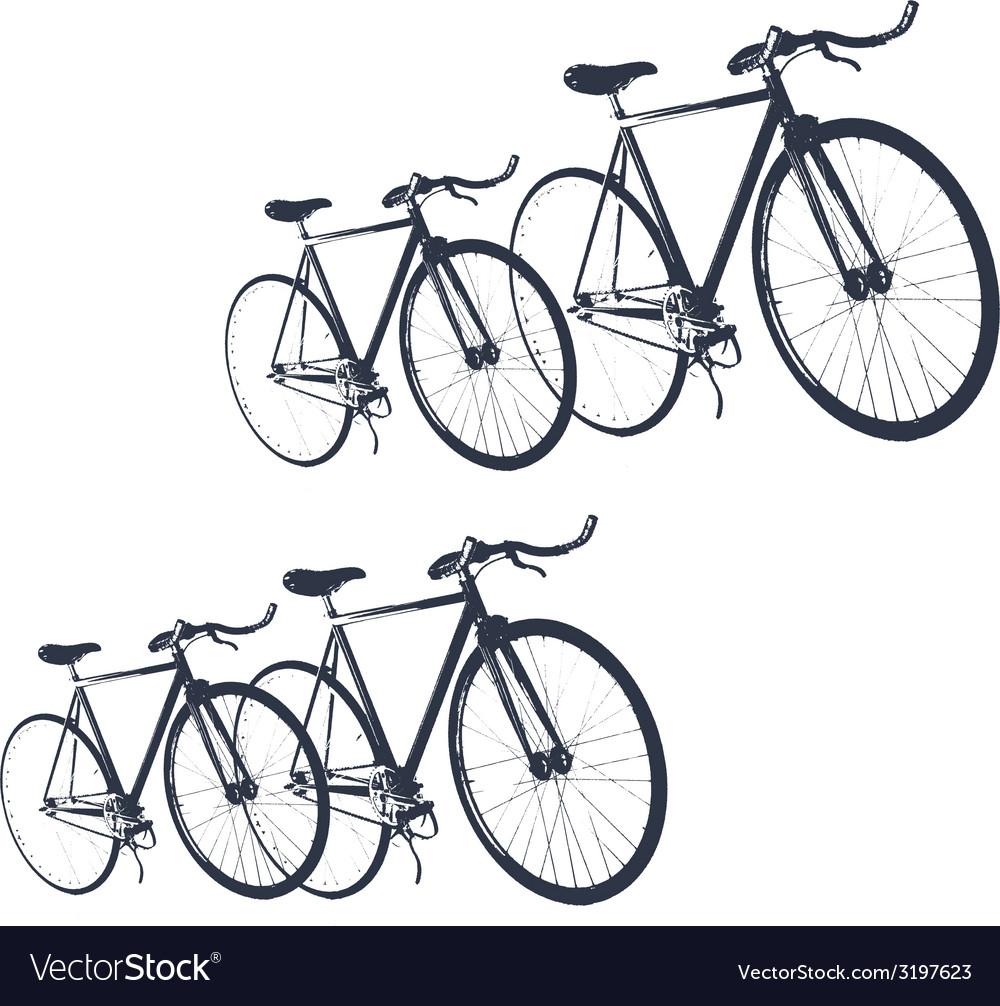 Bike print fashion trend men junior kids vector | Price: 1 Credit (USD $1)