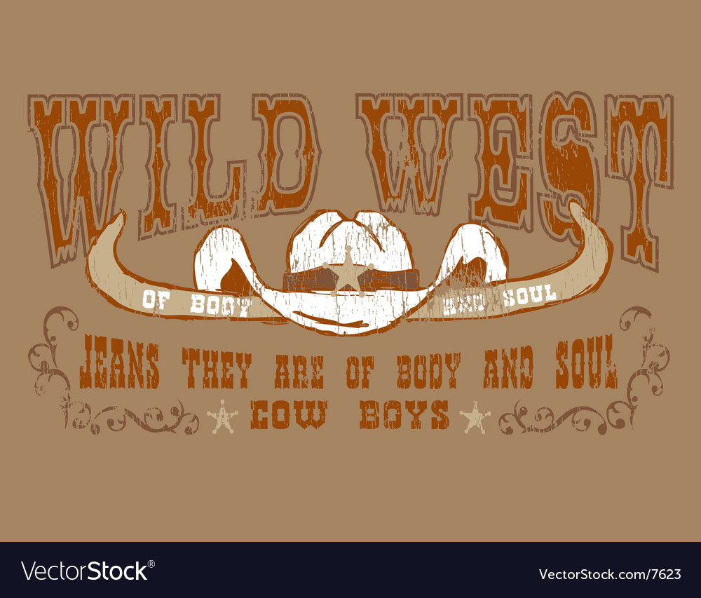 Design cowboy vector | Price: 1 Credit (USD $1)