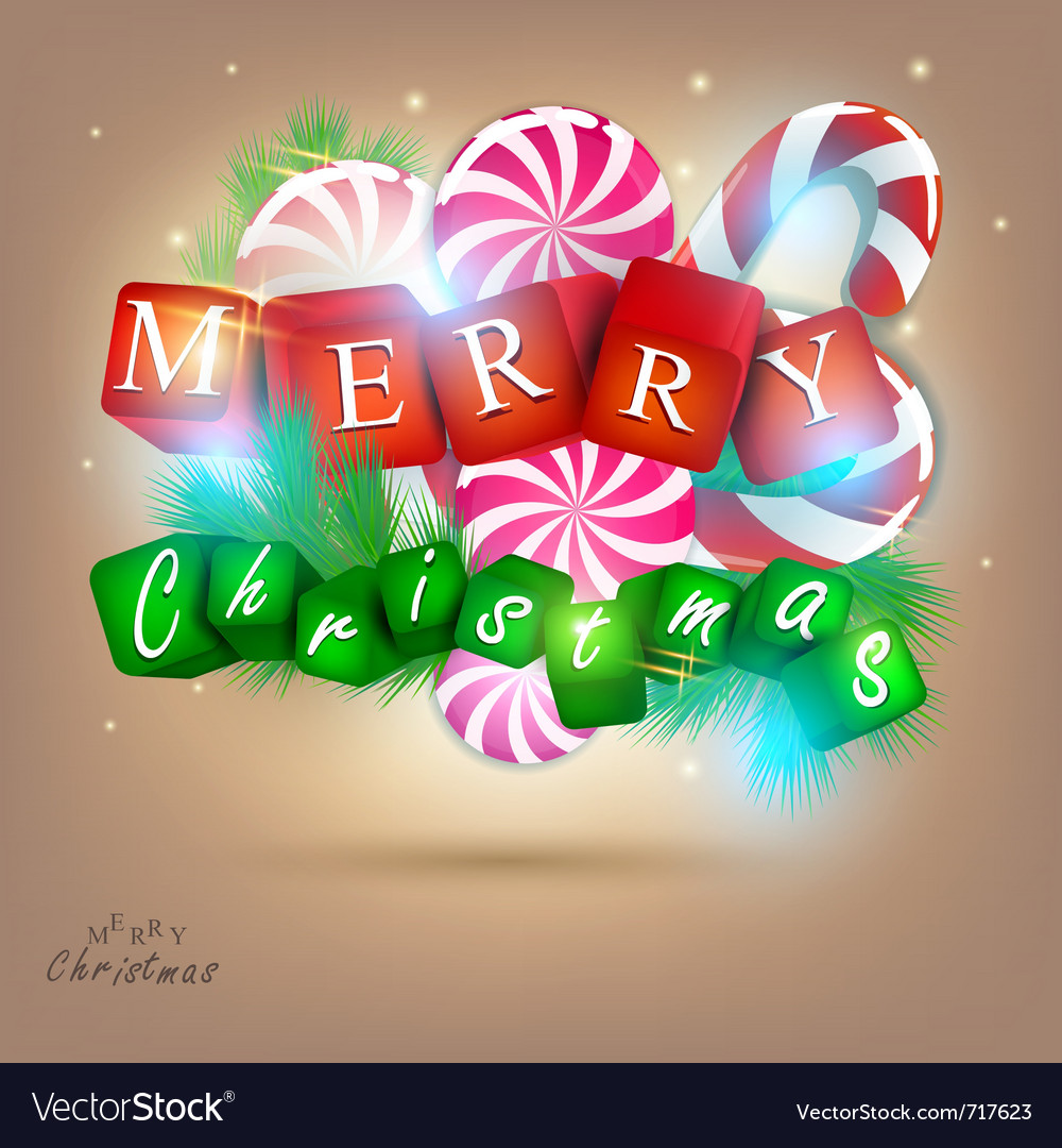 Merry christmas and happy new year 2012 background vector | Price: 1 Credit (USD $1)