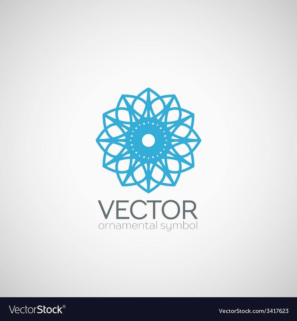 Ornamental symbol vector | Price: 1 Credit (USD $1)