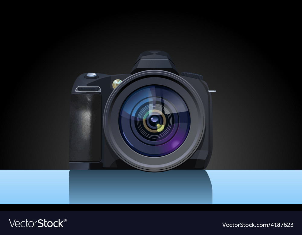 Reflex camera vector   Price: 1 Credit (USD $1)