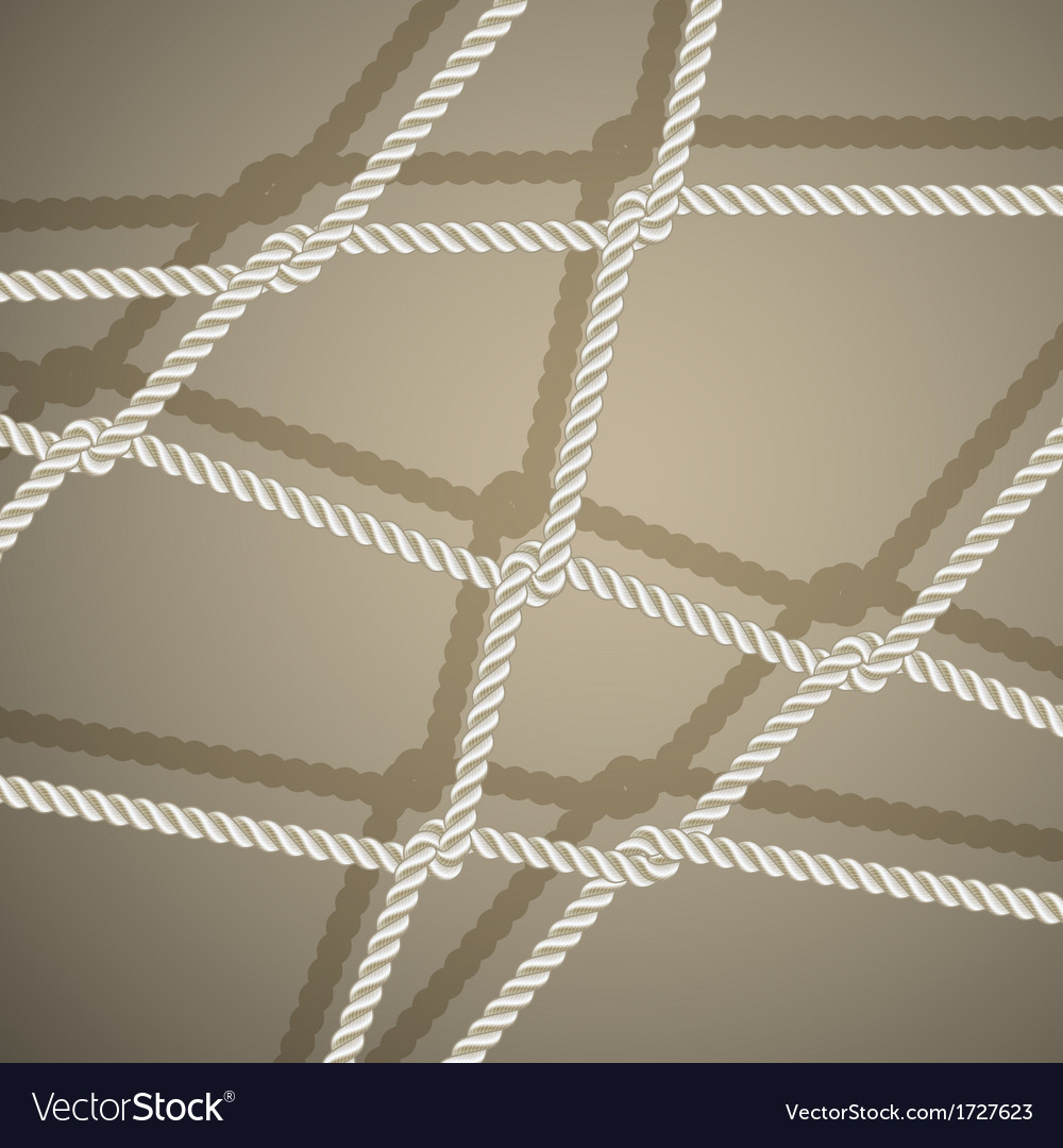 Stylish background with rope vector | Price: 1 Credit (USD $1)