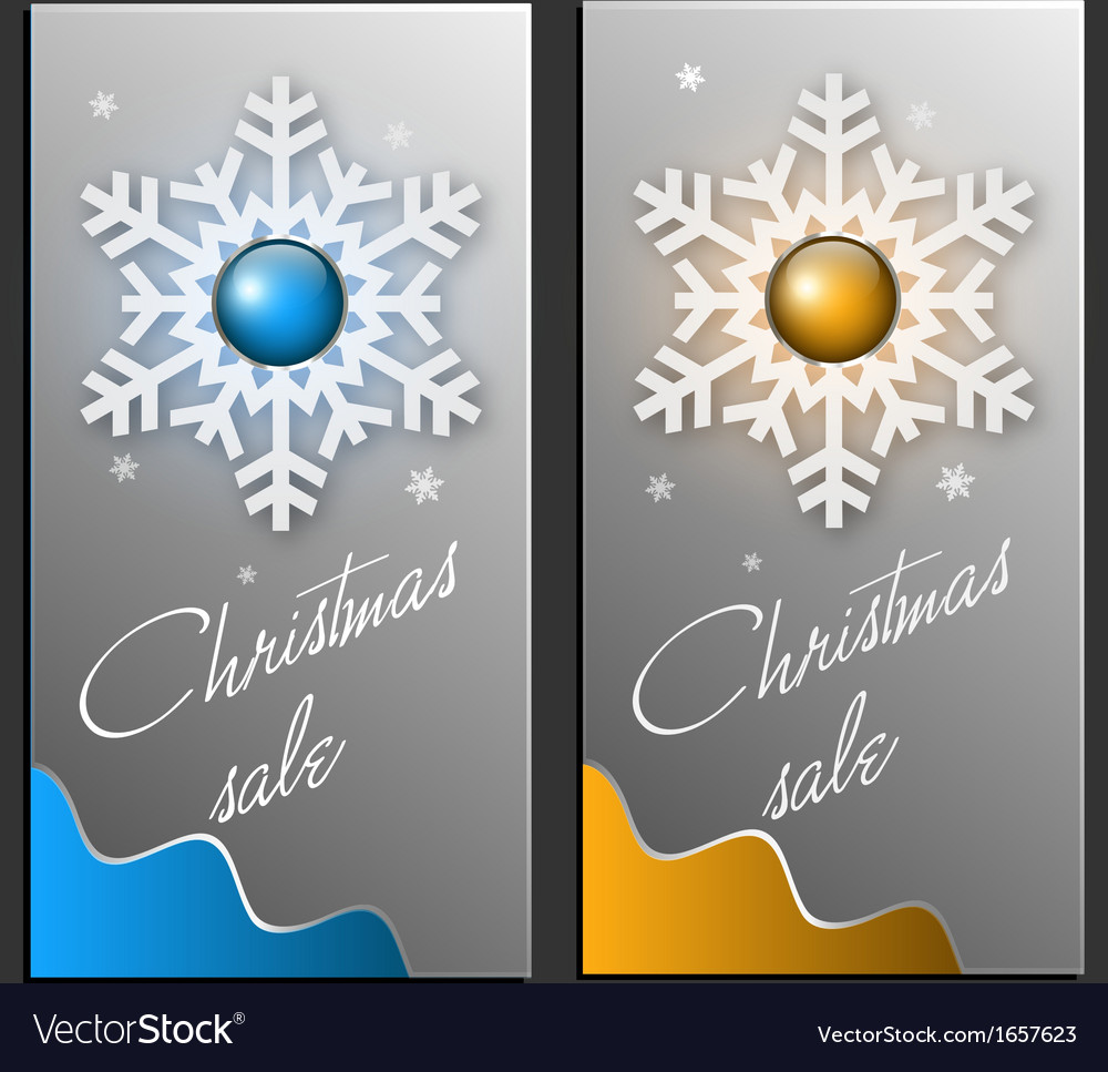 Trendy christmas sale card vector   Price: 1 Credit (USD $1)