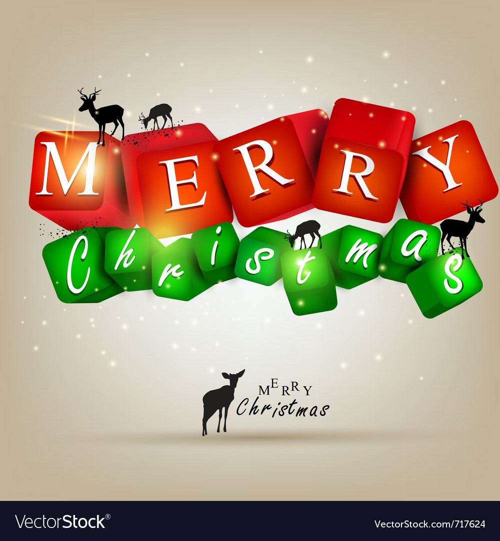 Merry christmas and happy new year 2012 background vector   Price: 1 Credit (USD $1)