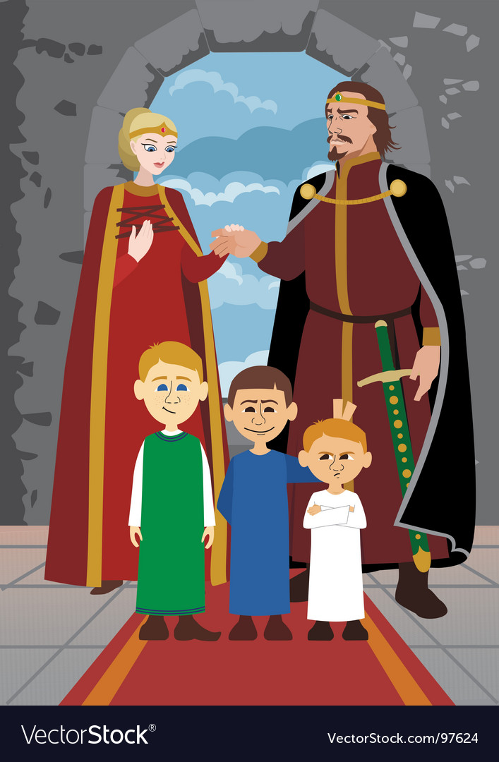 Noble family vector | Price: 3 Credit (USD $3)