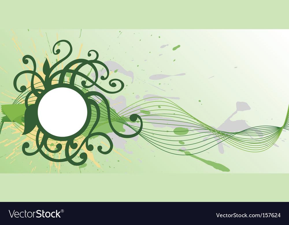 Round vignette vector | Price: 1 Credit (USD $1)