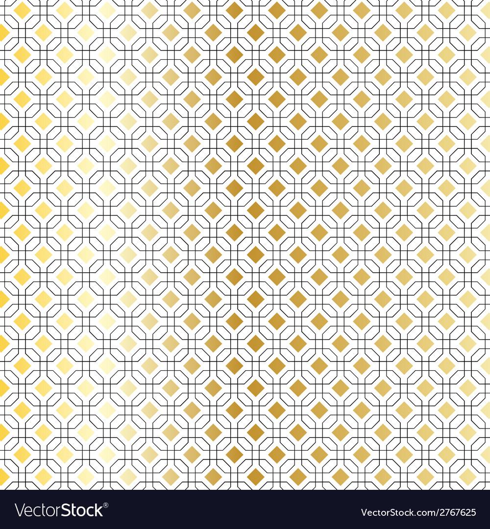 Black gold geometric vector | Price: 1 Credit (USD $1)