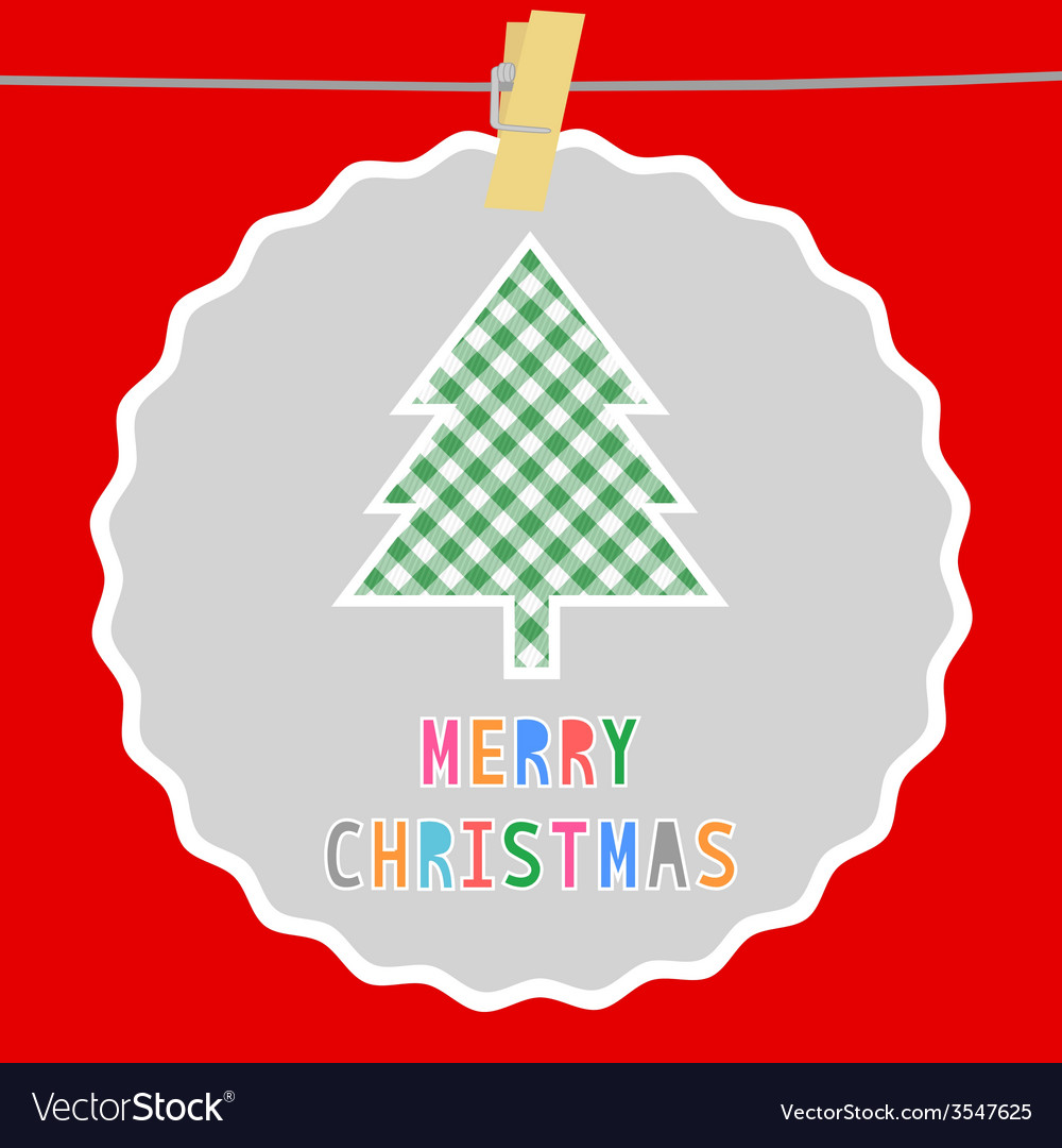 Merry christmas greeting card51 vector | Price: 1 Credit (USD $1)