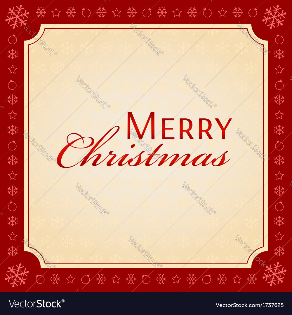 Merry christmas holiday season concept vector | Price: 1 Credit (USD $1)