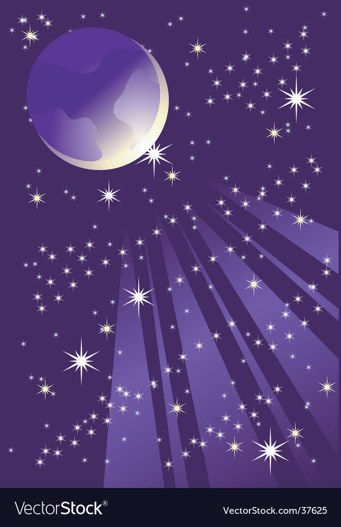 Night background vector | Price: 1 Credit (USD $1)