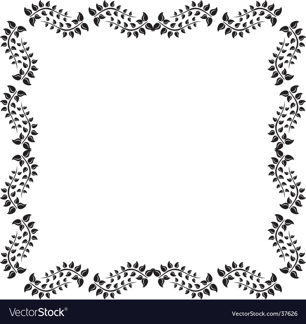 Revival design frame vector | Price: 1 Credit (USD $1)