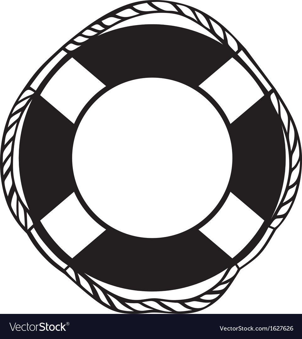 Symbol lifebuoy vector | Price: 1 Credit (USD $1)