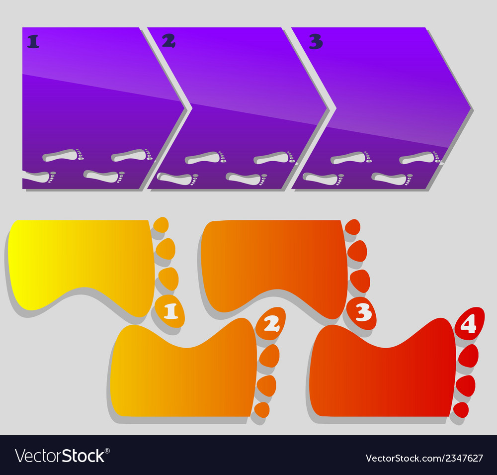 Horizontal vertical steps vector | Price: 1 Credit (USD $1)