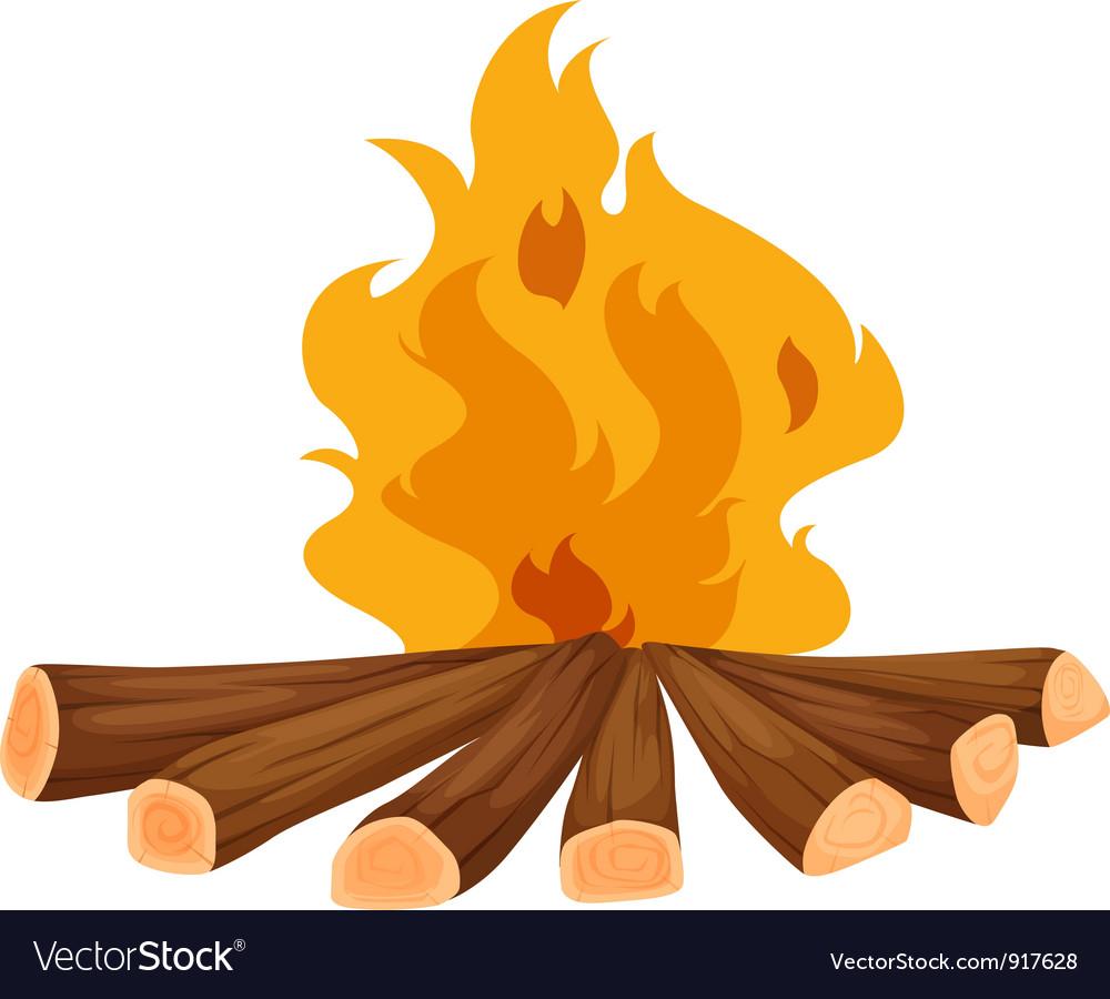Campfire vector | Price: 3 Credit (USD $3)