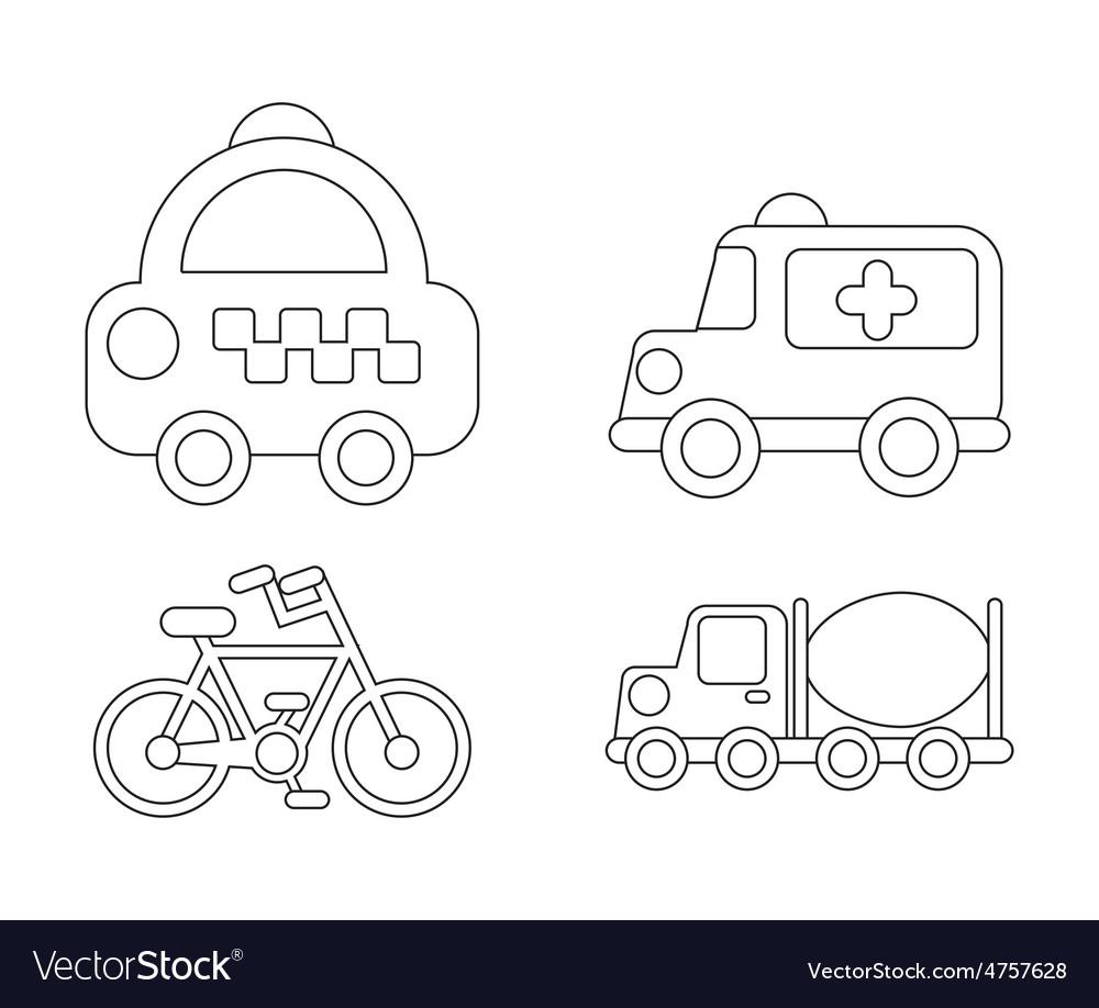 Conveyance icon vector   Price: 1 Credit (USD $1)