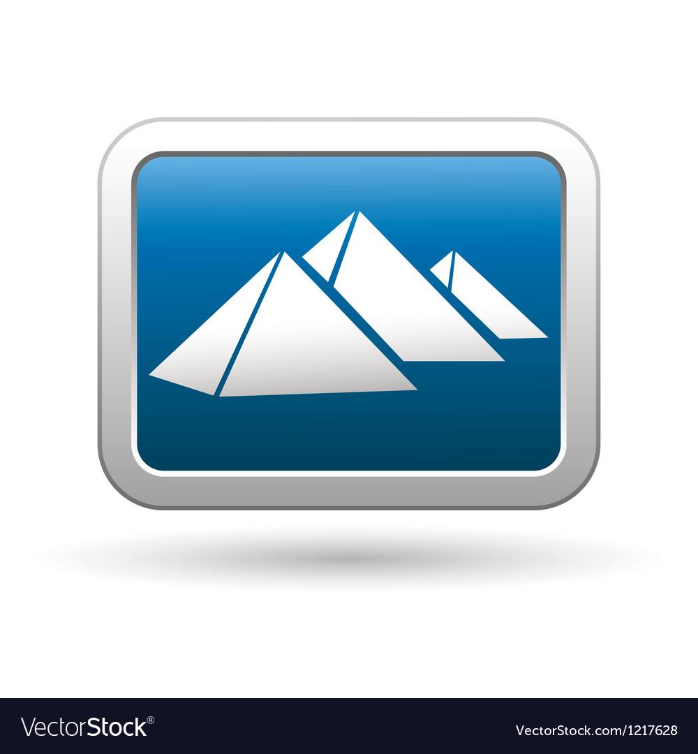 Pyramids icon vector | Price: 1 Credit (USD $1)