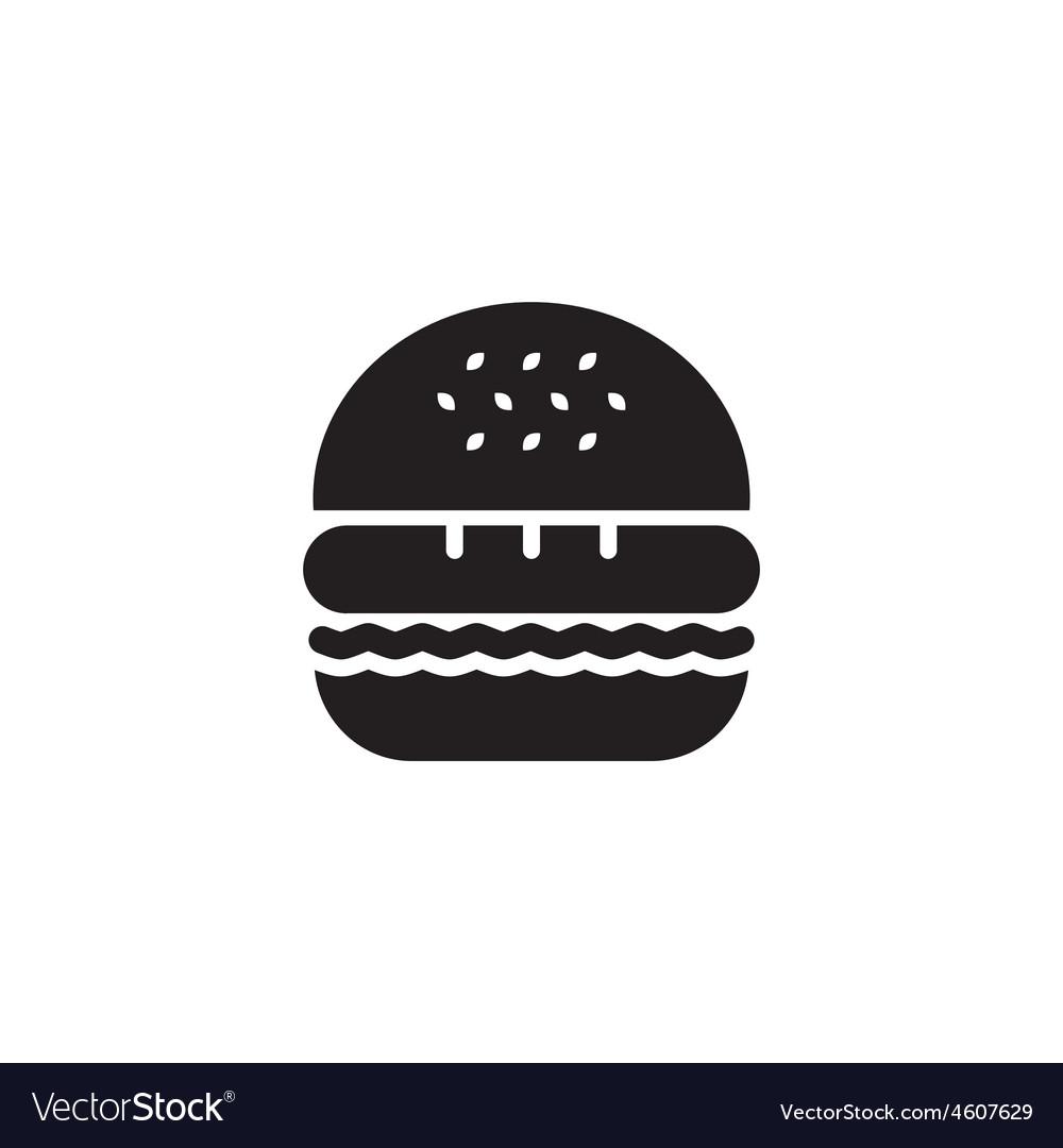 Hamburger icon black vector | Price: 1 Credit (USD $1)