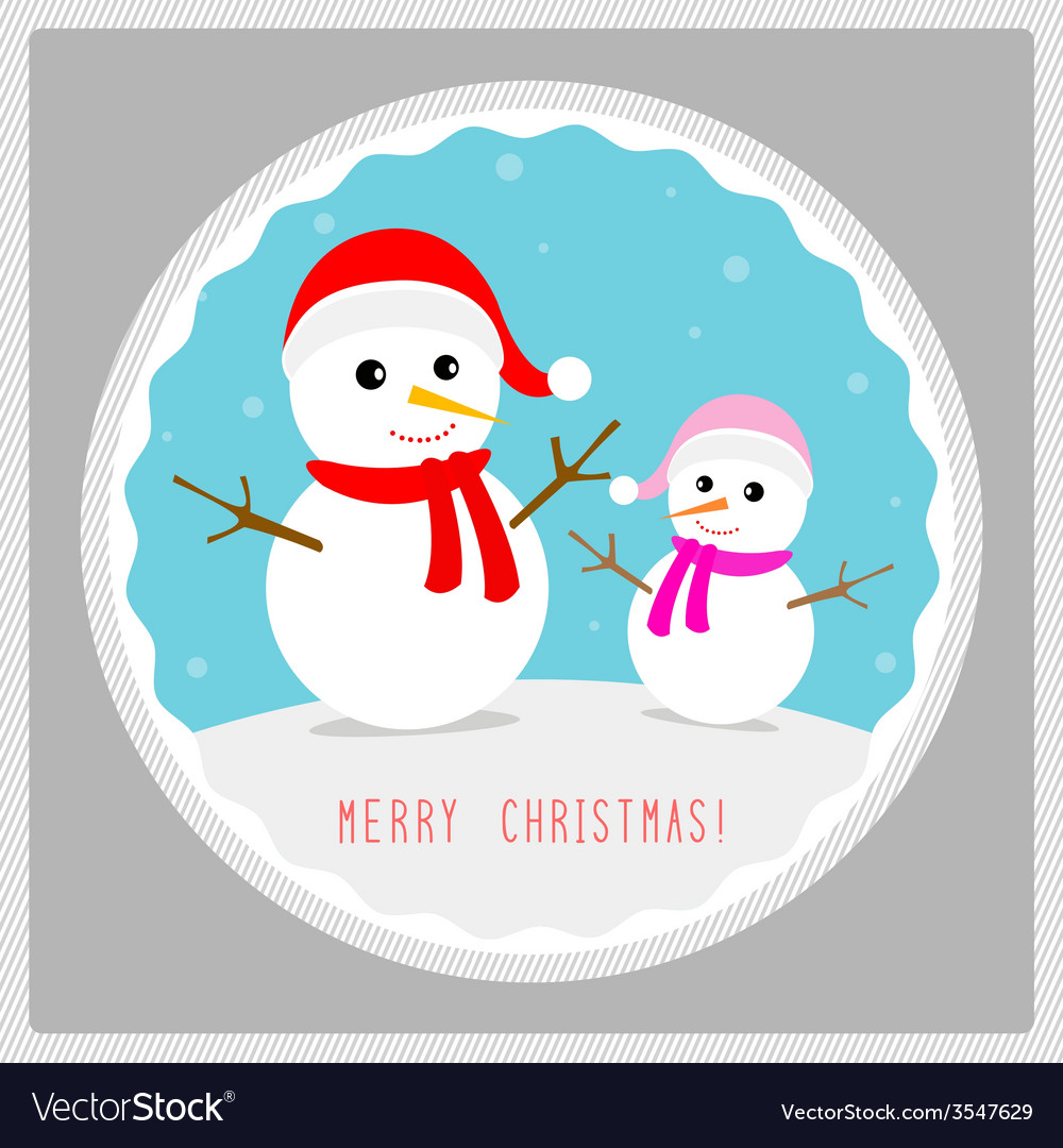 Merry christmas greeting card53 vector | Price: 1 Credit (USD $1)