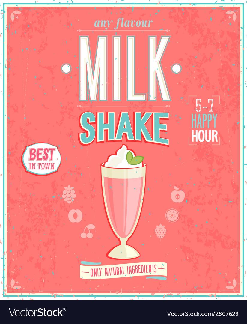 Milkshake2 vector | Price: 1 Credit (USD $1)