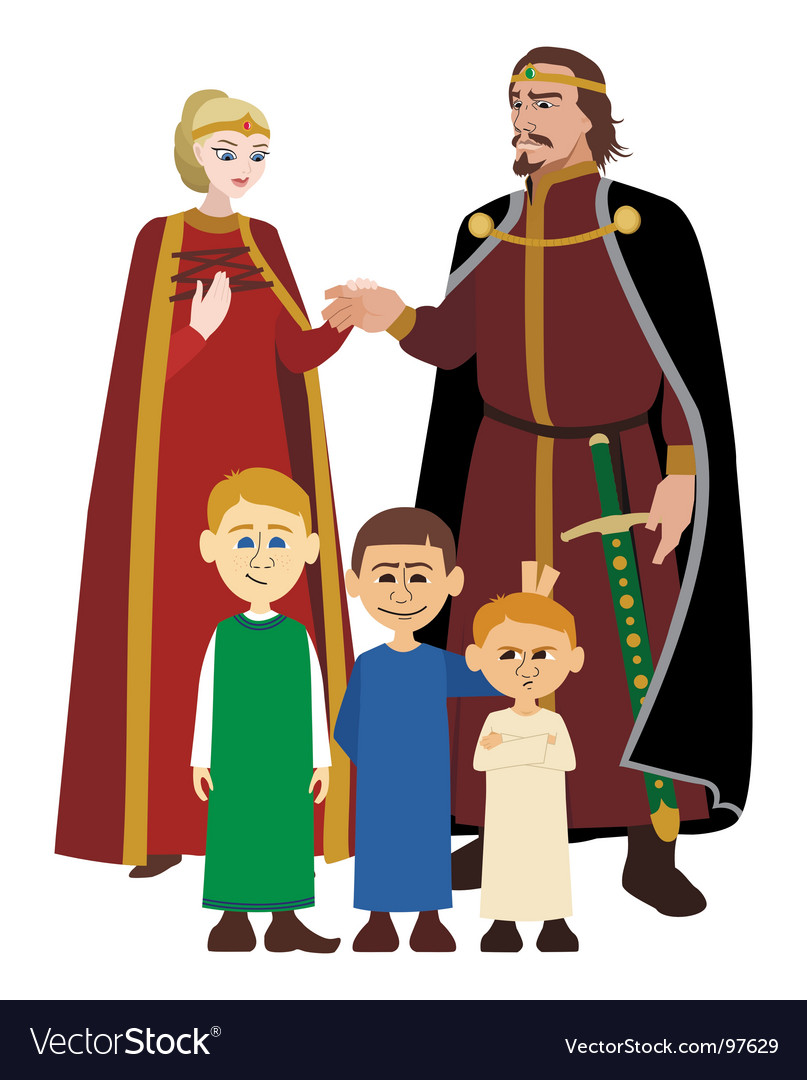 Noble family vector | Price: 1 Credit (USD $1)