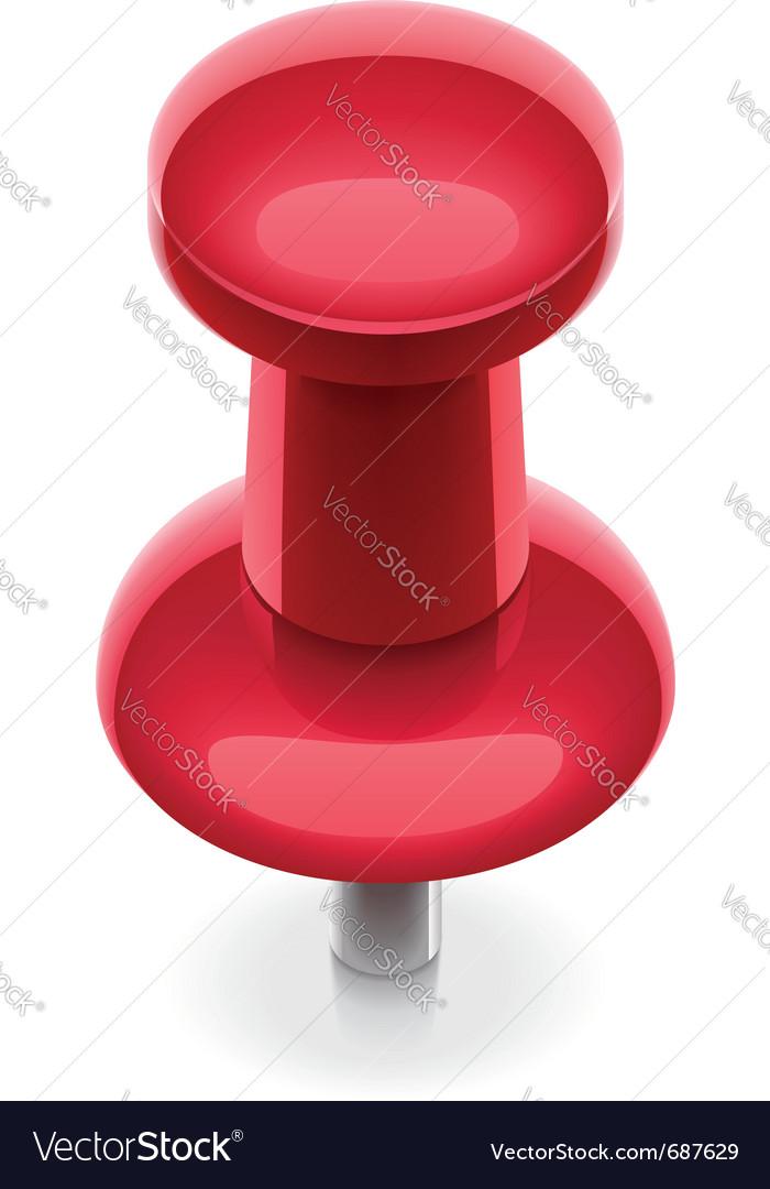 Thumbtack icon vector | Price: 1 Credit (USD $1)