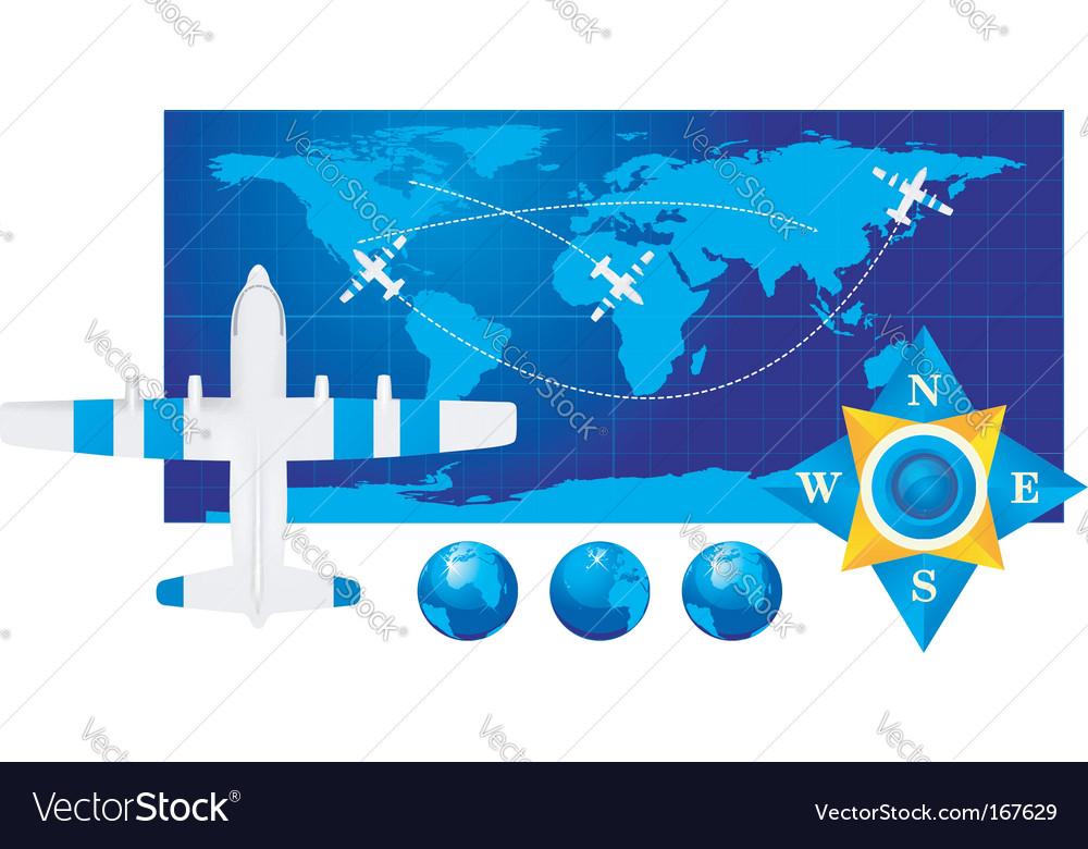 Travel illustration vector | Price: 1 Credit (USD $1)
