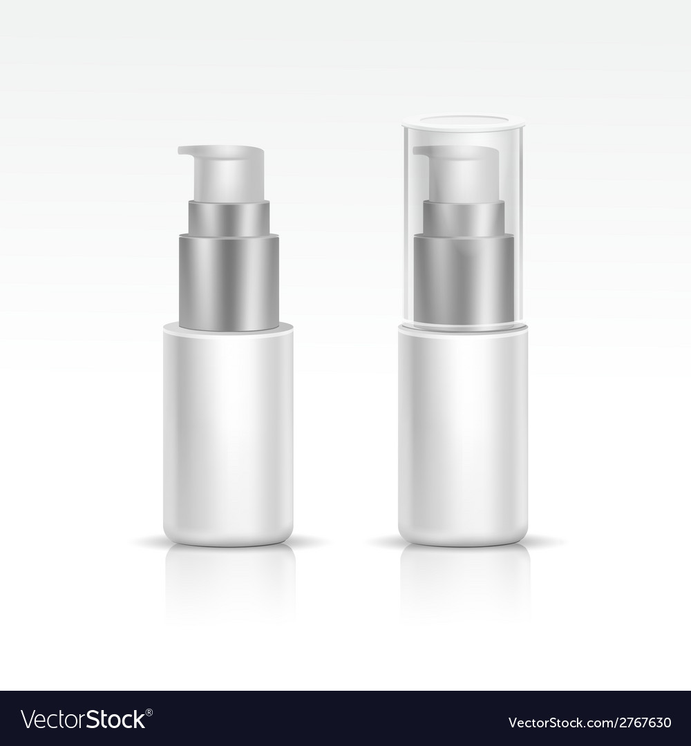 Blank spray bottle vector | Price: 1 Credit (USD $1)