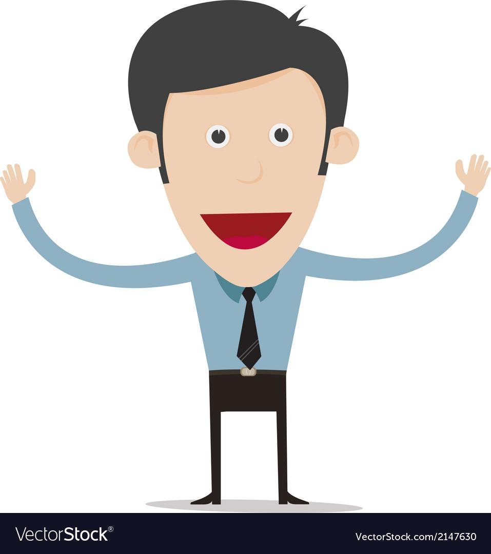 Cartoon business person vector   Price: 1 Credit (USD $1)