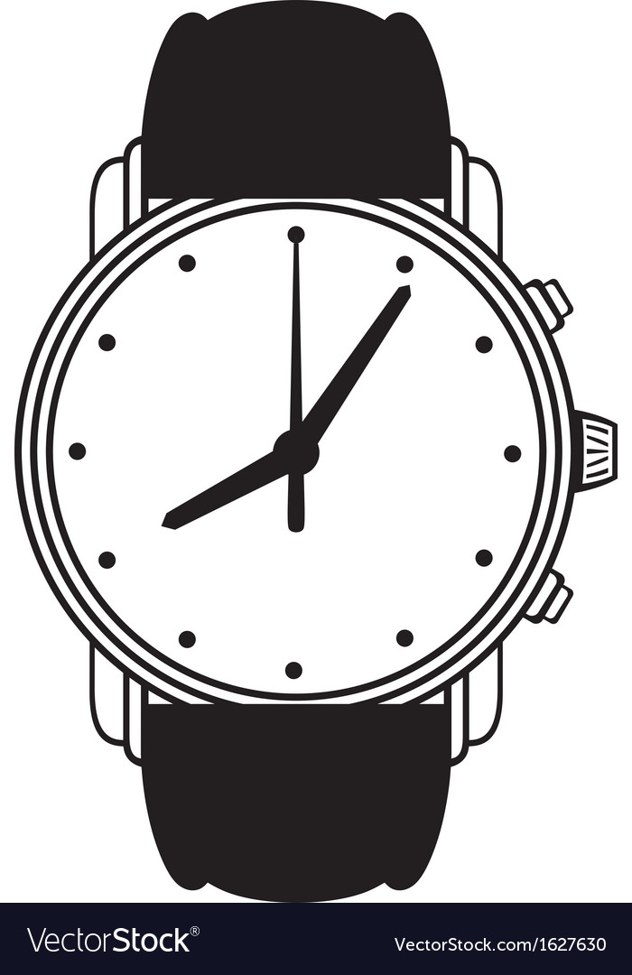 Symbol wristwatch vector | Price: 1 Credit (USD $1)