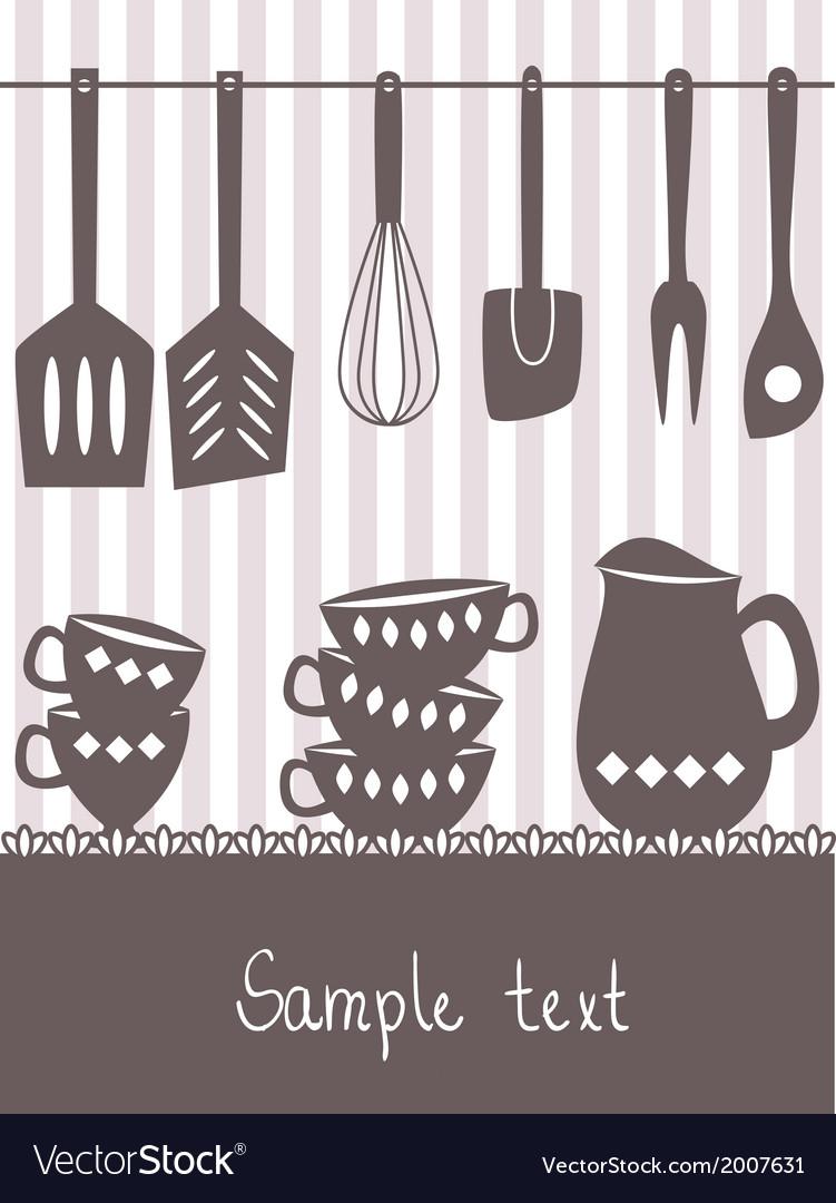 Kitchen menu design vector | Price: 1 Credit (USD $1)