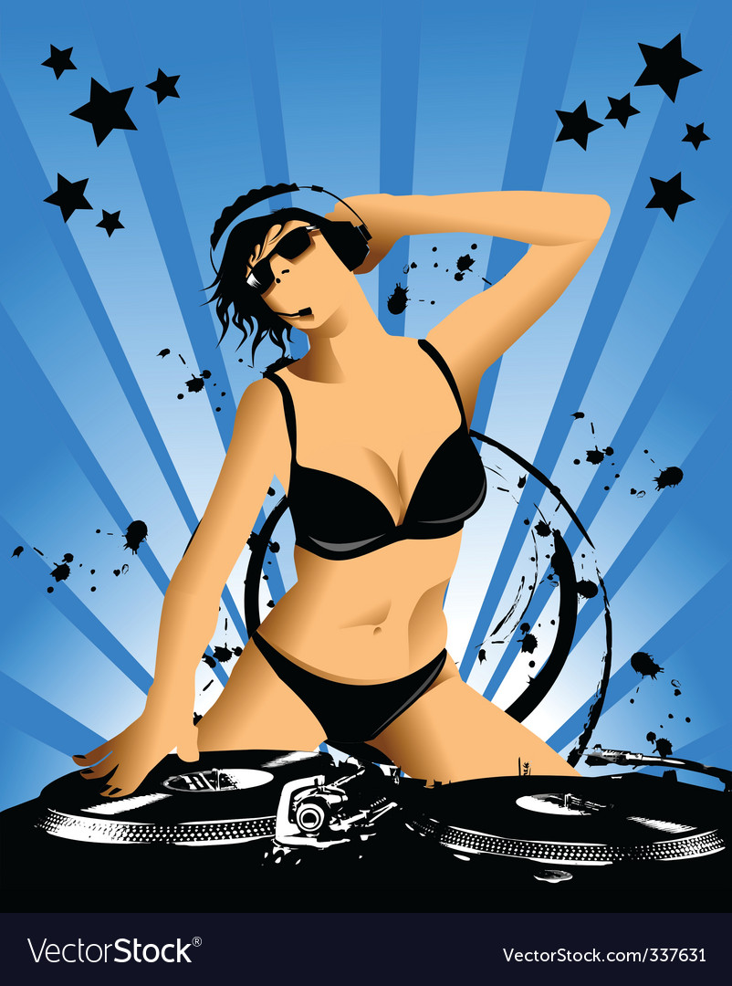 Sexy dj vector | Price: 3 Credit (USD $3)