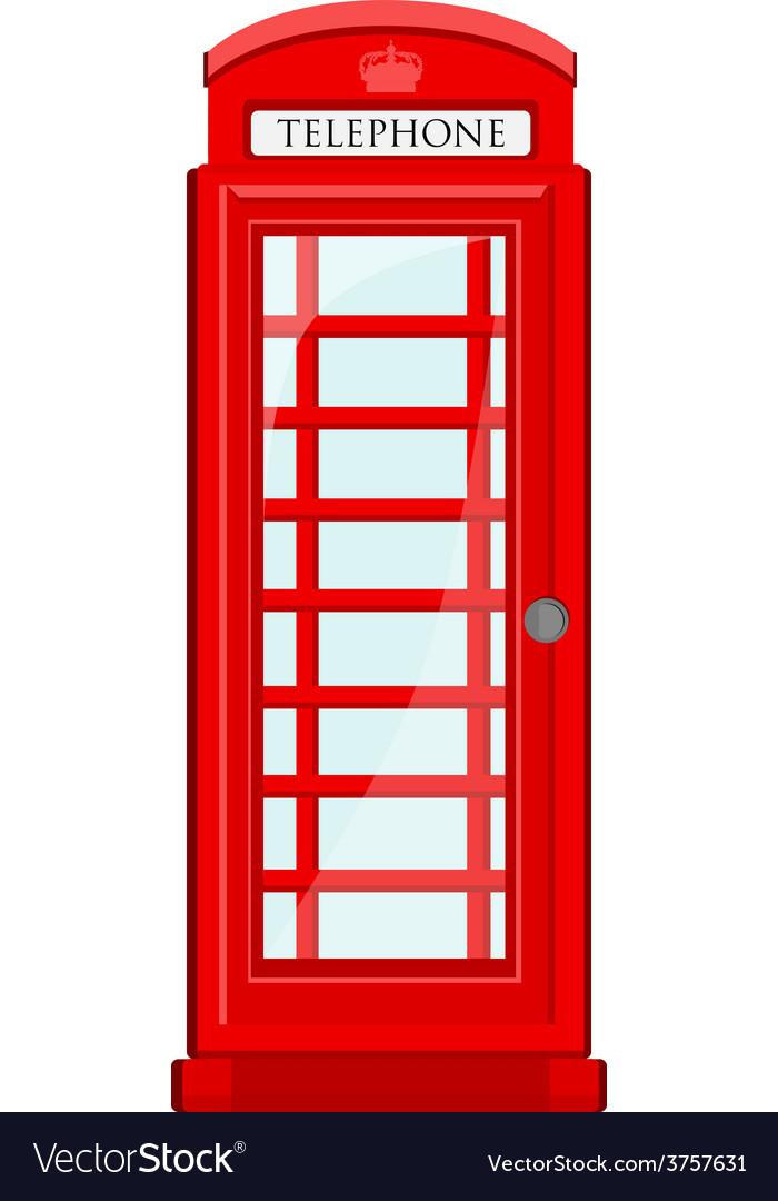 Telephone box vector | Price: 1 Credit (USD $1)