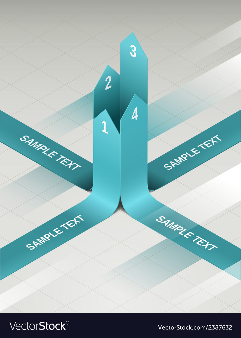 Paper vertical arrows vector | Price: 1 Credit (USD $1)