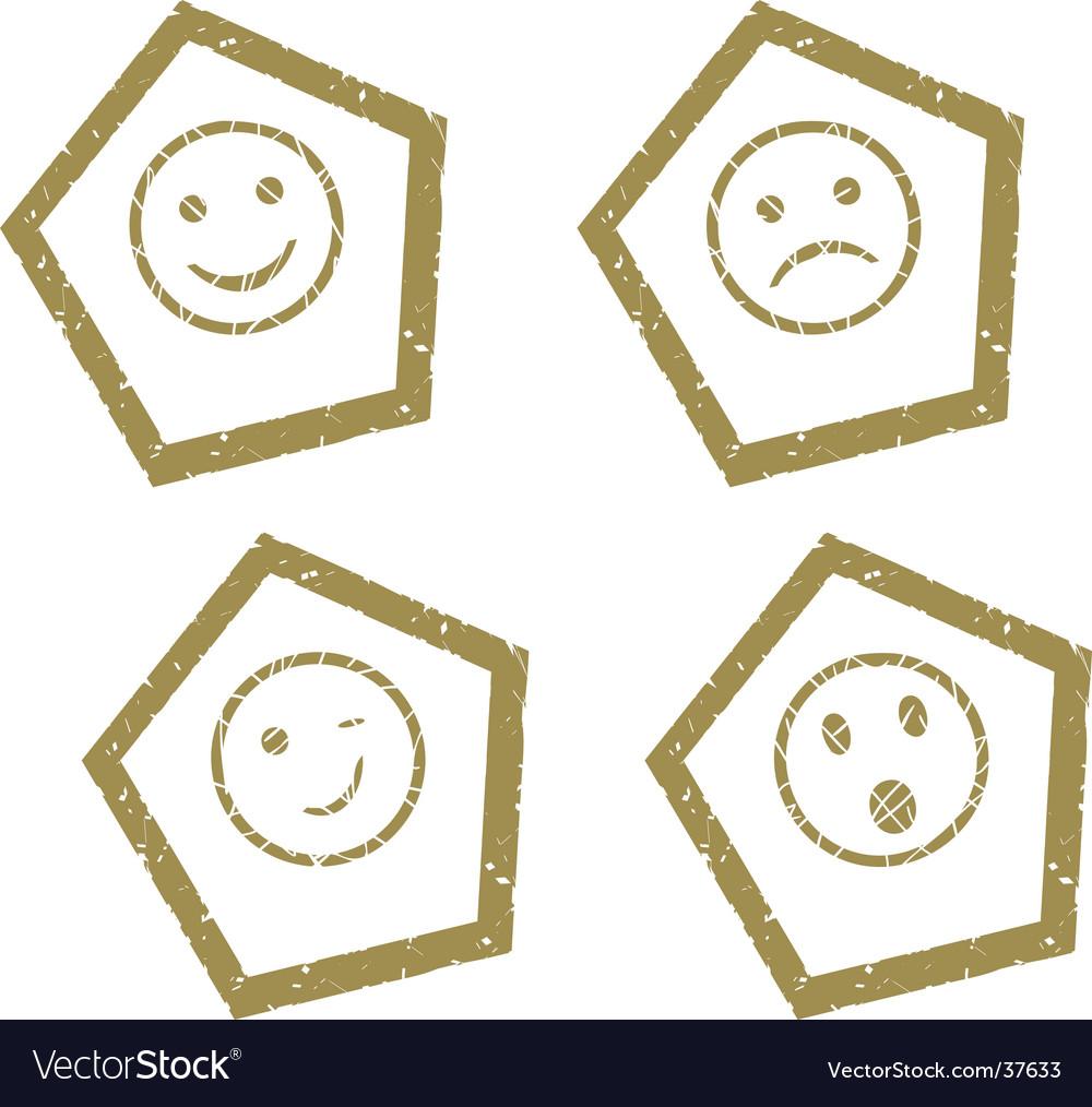 Smile press vector | Price: 1 Credit (USD $1)